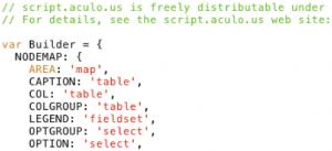 Uncompressed Javascript File